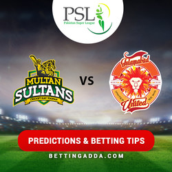 Multan Sultans vs Islamabad United 6th Match Prediction Betting Tips Preview