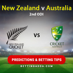New Zealand v Australia 2nd ODI Prediction Betting Tips