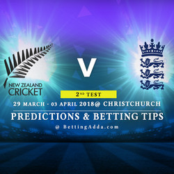 New Zealand vs England 2nd Test Match Prediction Betting Tips Preview