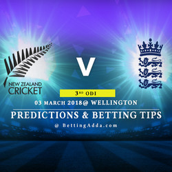 New Zealand vs England 3rd ODI Prediction Betting Tips Preview
