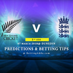 New Zealand vs England 4th ODI Prediction Betting Tips Preview