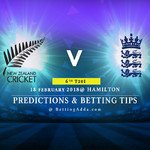 New Zealand vs England 6th T20I Prediction Betting Tips Preview
