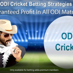ODI Cricket Betting Strategies