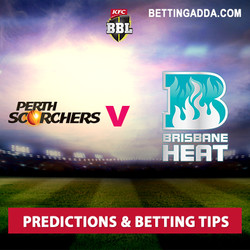 Perth Scorchers v Brisbane Heat BBL 06 Prediction and Betting Tips
