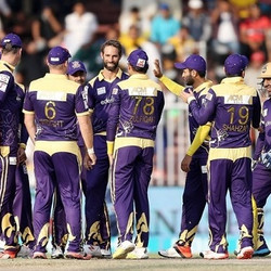Quetta Gladiators Heads the table with 12 points