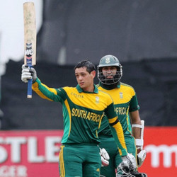 Quinton de Kock and Hashim Amla Tons in the 3rd ODI