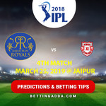 Rajasthan Royals vs Kings XI Punjab Prediction Betting Tips Preview
