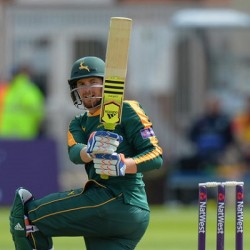 Riki Wessels 2nd Fifty for Nottinghamshire Outlaws