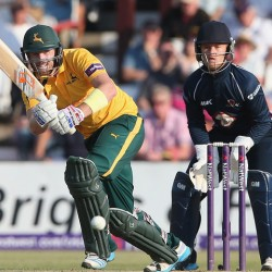 Riki Wessels Notts Outlaws Natwest T20 Blast