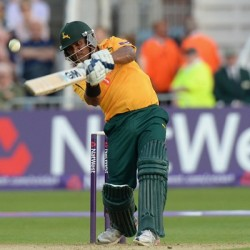 Samit Patel 58 vs Northamptonshire