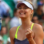 Maria Sharapova should easily get through to the second round