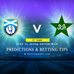 Scotland vs Pakistan 1st T20I Match Prediction Betting Tips Preview