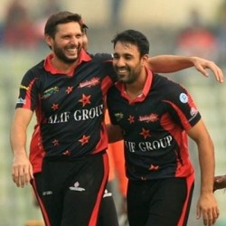 Shahid Afridi and Ravi Bopara Delivering their best for SSS