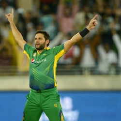 Shahid Afridi Player of the match vs Bangladesh