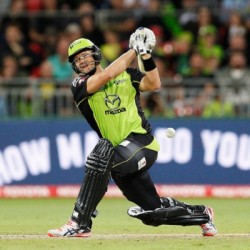 Shane Watson 62 for Sydney Thunder in the last game