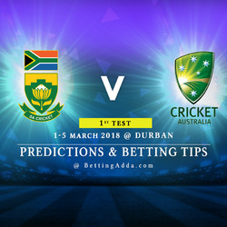 South Africa vs Australia 1st Test Match Prediction Betting Tips Preview