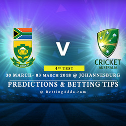 South Africa vs Australia 4th Test MAtch Prediction Betting Tips Preview