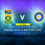 South Africa vs India 3rd T20I Match Prediction Betting Tips Preview