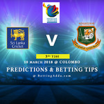 Sri Lanka vs Bangladesh 3rd Match Prediction Betting Tips Preview 1