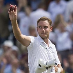 Stuart Broad Player of the match for his lethal bowling