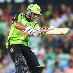 Usman Khawaja Second ton of the BBL
