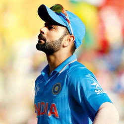 Virat Kohli Mainstay of the Indian batting