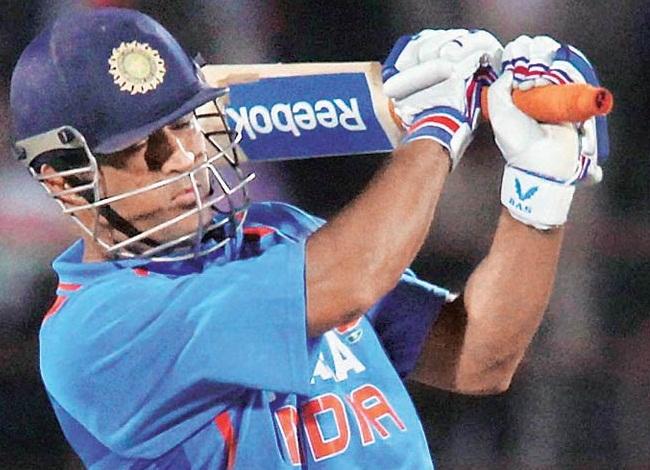 MS Dhoni - Ever reliable batsman