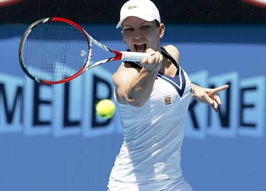 Simona Halep vs Zarina Diyas Australian Open 2014 Tennis Championship