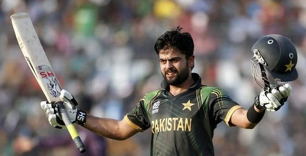 Ahmed Shehzad - Second player to blast a ton in the event