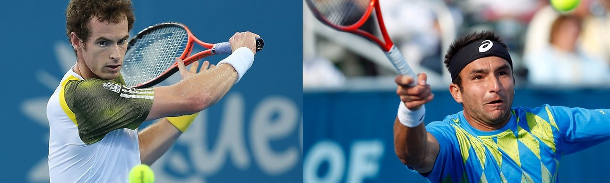 Marinko Matosevic progresses to round two. His next task is Andy Murray. Can he do it?