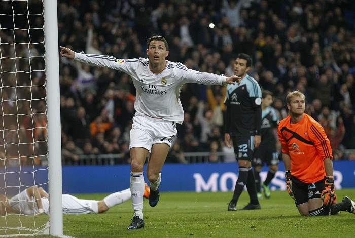 Will Ronaldo be able to lead his side to the victory at Los Balaídos next  weekend