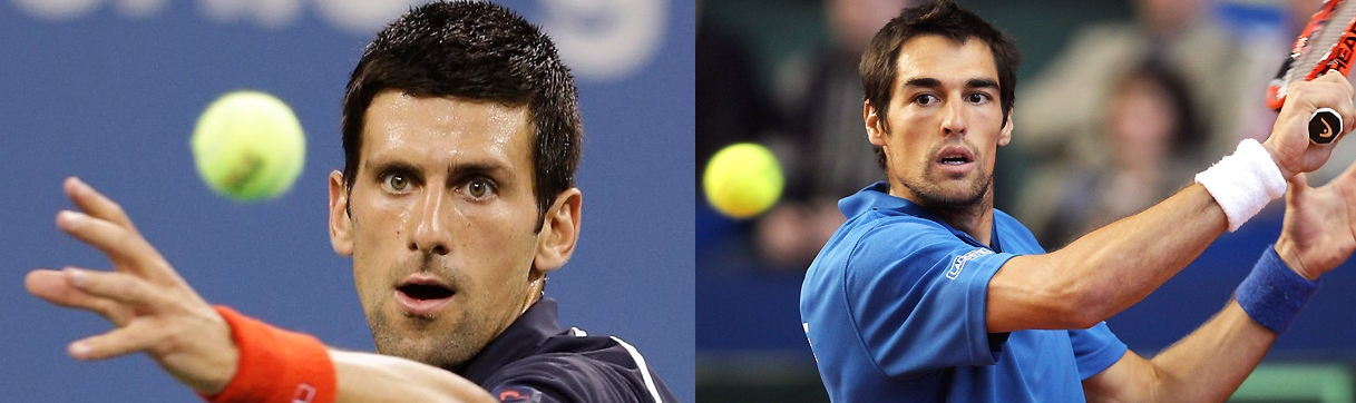 Serbian finesse meets Gallic pride in the second round, as Djokovic takes on Chardy and all of France.