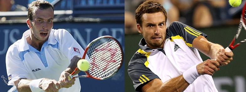 Stepanek vs Gulbis. The elder statesman vs the Latvian hot-shot. Roger Federer looms as their most likely opponent..