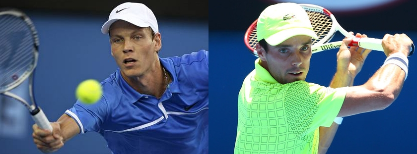 Berdych vs Bautista Agut. This has all the makings of a five set stoush.