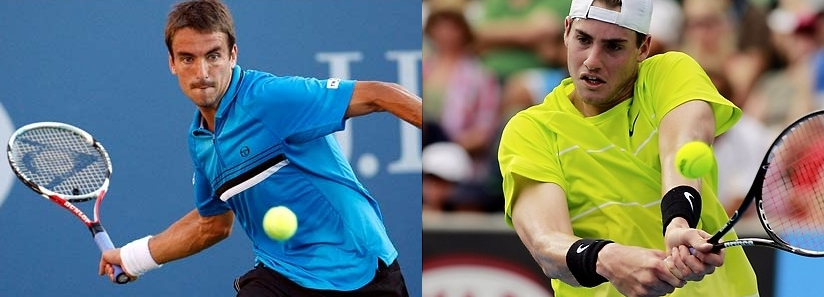 Robredo vs Isner. The Spanish retriever and the American tower. Who will prevail on clay?