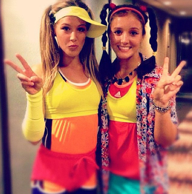 Eugenie Bouchard and Laura Robson