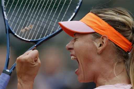 Maria Sharapova should win in a tight match