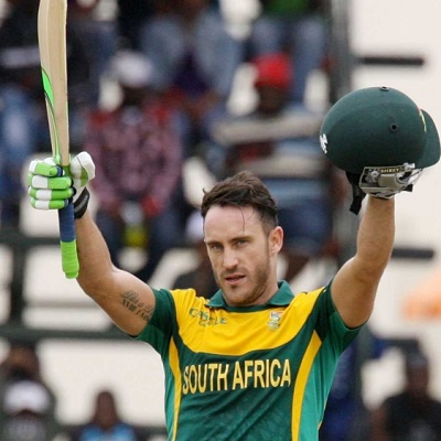 Faf du Plessis - The backbone of the Proteas batting