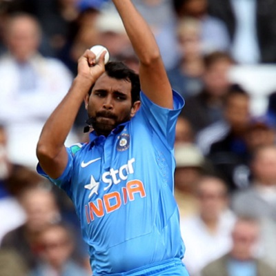 Mohammed Shami - 'Player of the match' for his lethal bowling
