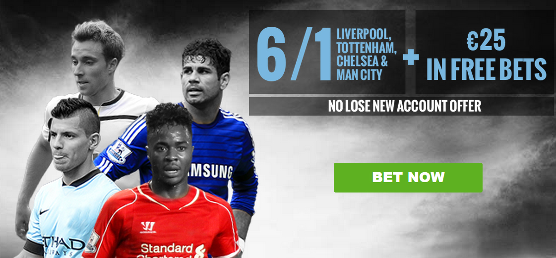 Liverpool Tottenham Manchester City Chelsea Offer BoyleSports