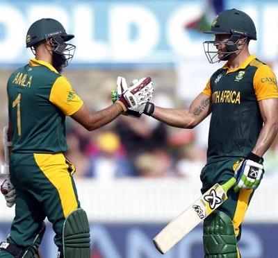 Hashim Amla and Faf du Plessis - Centuries vs. Ireland