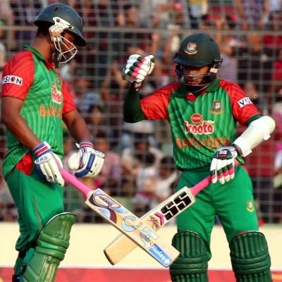 Tamim Iqbal and Mushfiqur Rahim - Match winning hundreds